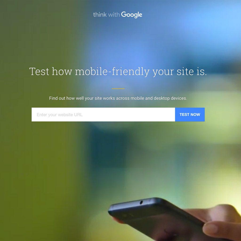 Googles Mobile Friendly website tool